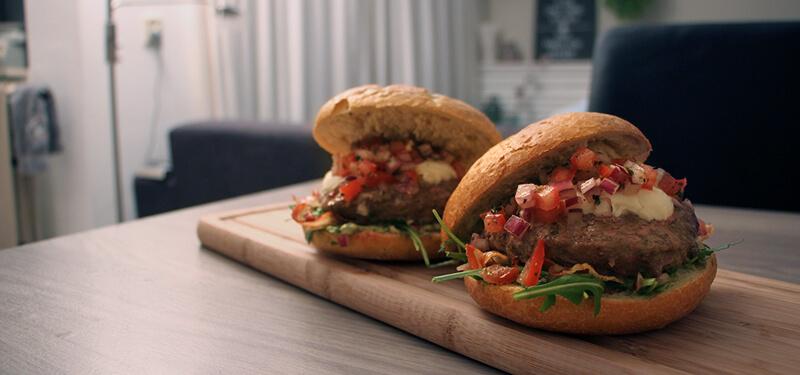 Met dit Hamburger recept voor Italiaanse Burgers scoor je gegarandeerd punten!