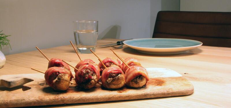 Gevulde champignons van de BBQ? Van dit recept zal iedereen smullen!