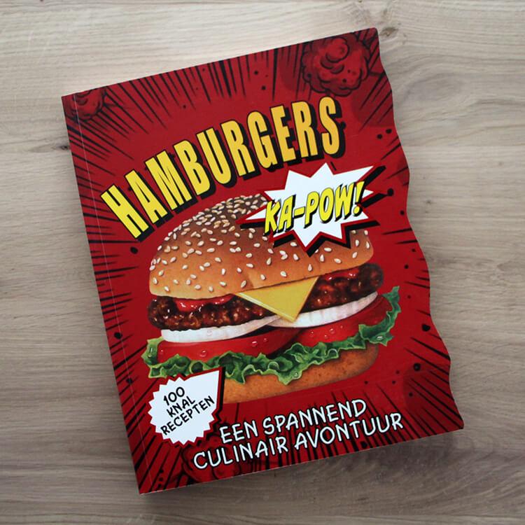 BBQ kookboeken - Hamburgers - 100 Knalrecepten