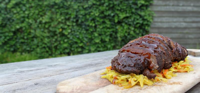 Misschien wel het meest gegeten gerecht van de Chinees, maar dan van de BBQ: Babi Pangang!