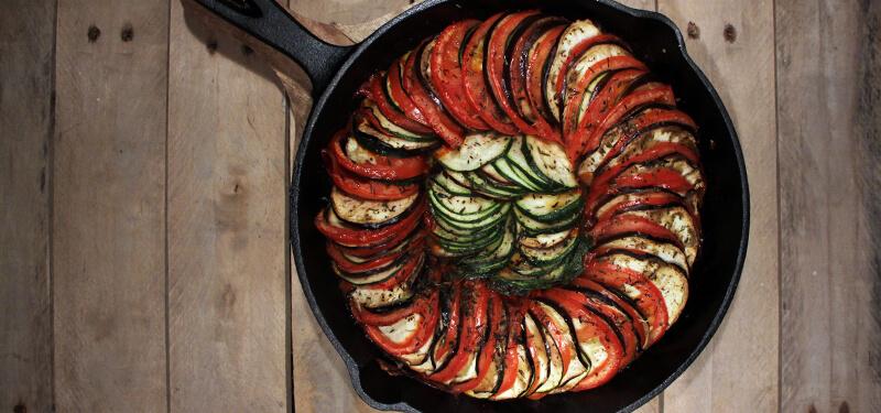 Dit bbq recept voor ratatouille is er één waarmee je gegarandeerd indruk zult maken!