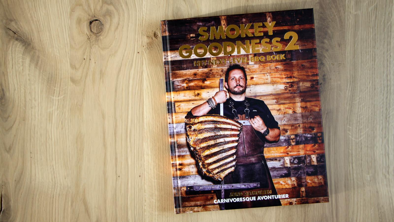 Benieuwd wat ik van het nieuwste boek van Jord Althuizen, Smokey Goodness II, vind?