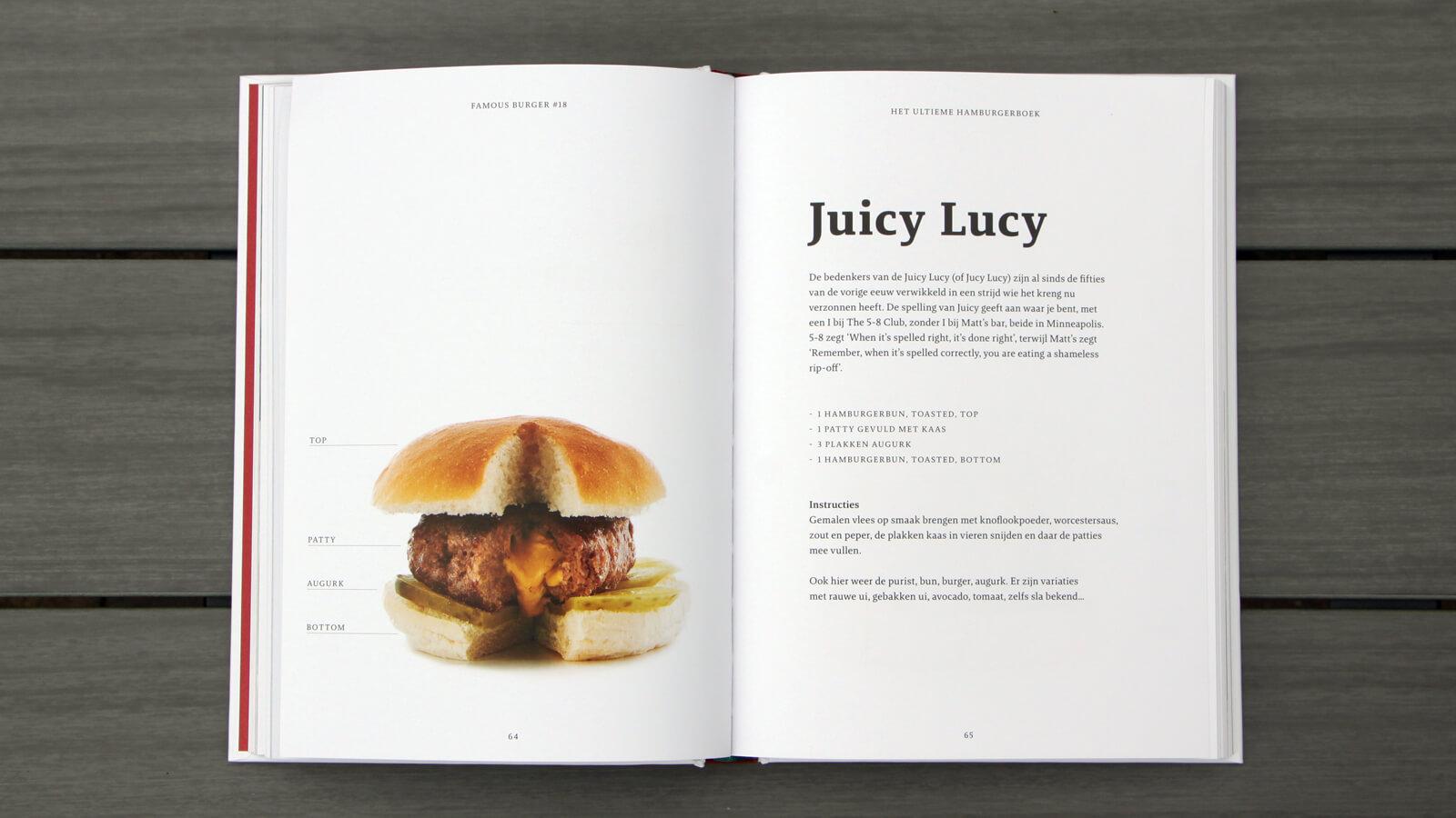 Het Ultieme Hamburgerboek, hamburger recepten van Julius Jaspers