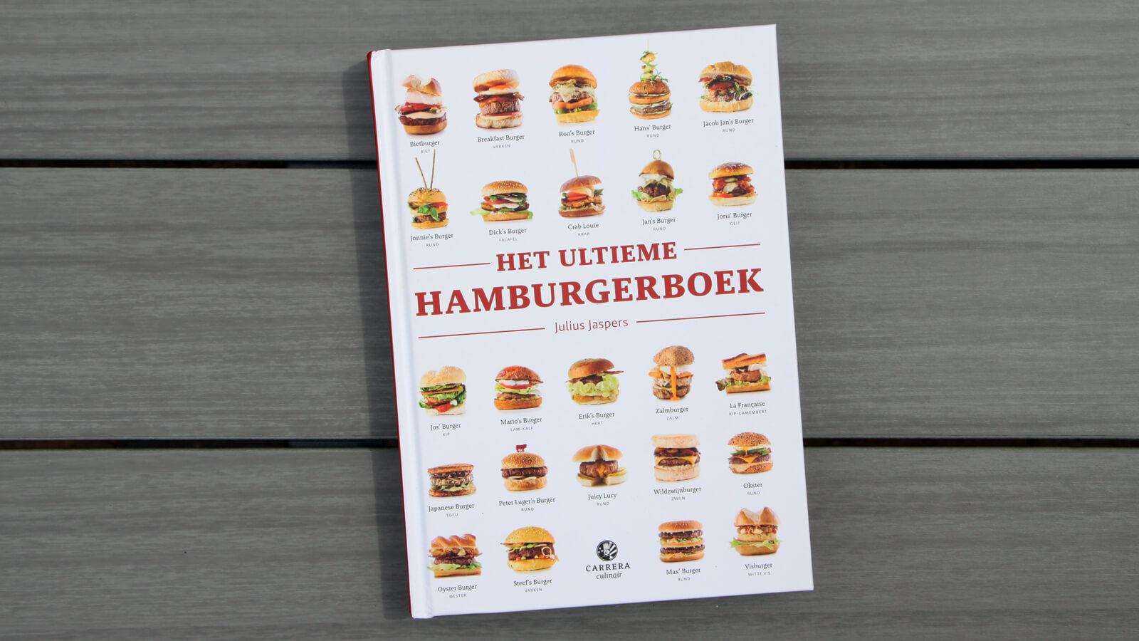 Het Ultieme Hamburgerboek, van Julius Jaspers