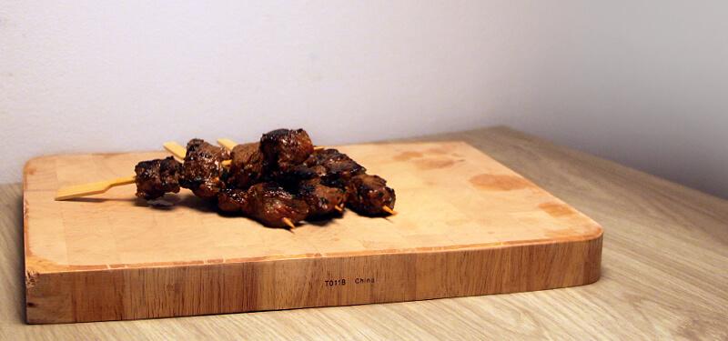 Een heerlijk recept voor goed gekruide biefstuk spiesen