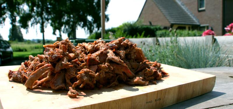 Tijd voor een BBQ klassieker, Pulled Pork
