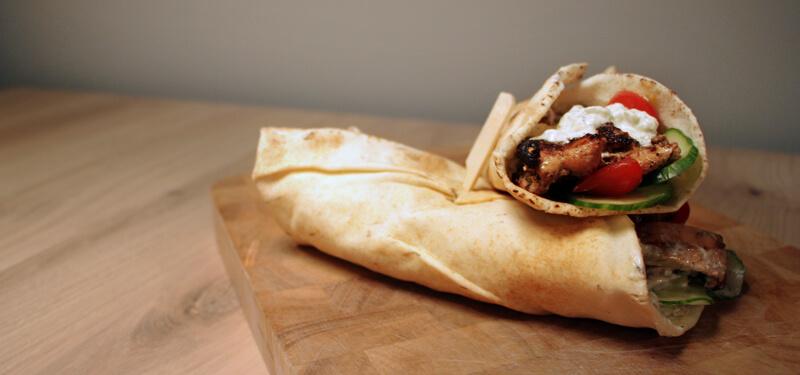 Waan je in Griekenland met dit recept voor gyros van de BBQ!