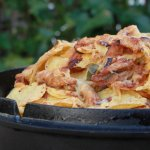 Nacho's met Pulled Chicken van de BBQ. Wordt het nog beter?