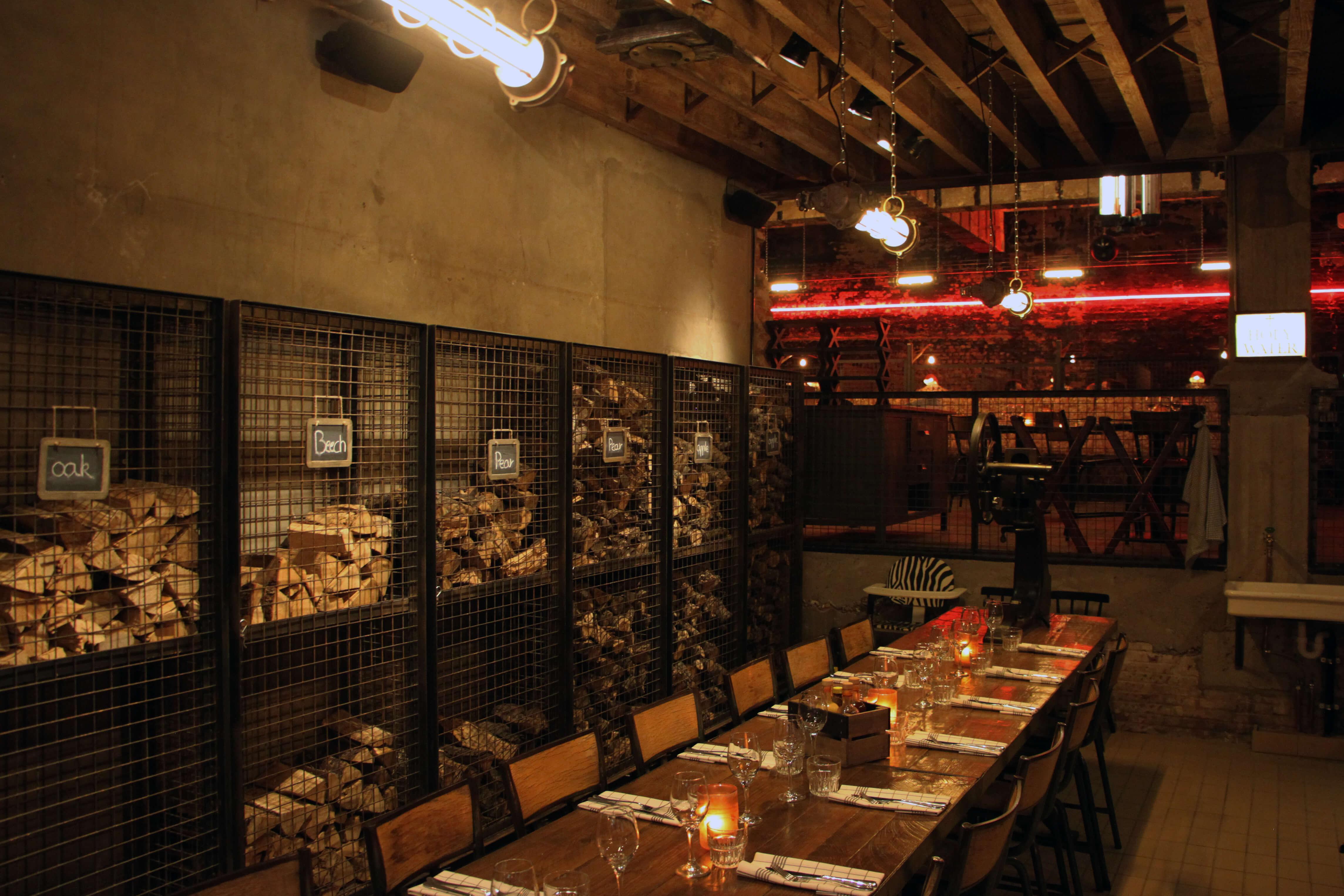 De keuze is reuze. Ook het rookhout wordt afgestemd op de gerechten bij BBQ Restaurant Black Smoke.