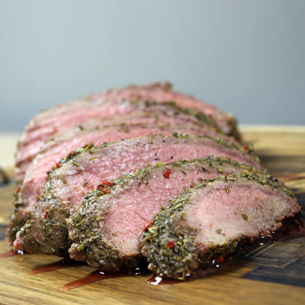 Rosbief van de BBQ