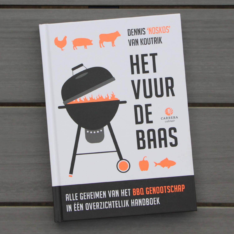 BBQ kookboeken - NOSKOS - Het Vuur De Baas
