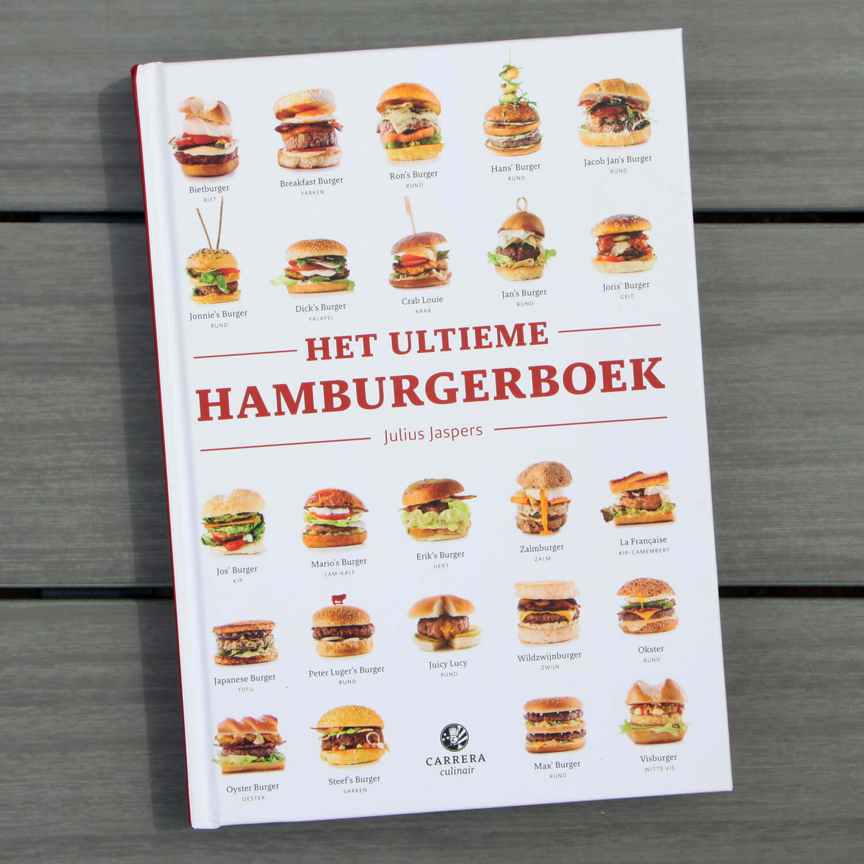 BBQ kookboeken - Julius Jaspers - Het Ultieme Hamburgerboek