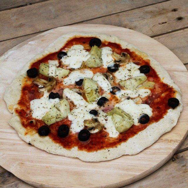 Vandaag weer een recept voor de pizza liefhebbers! Met eenhellip