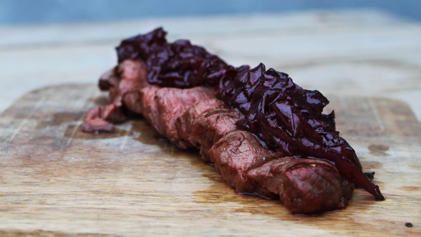 Ook dit najaar kan de BBQ aan. Ga bijvoorbeeld voor een heerlijke hertenbiefstuk!