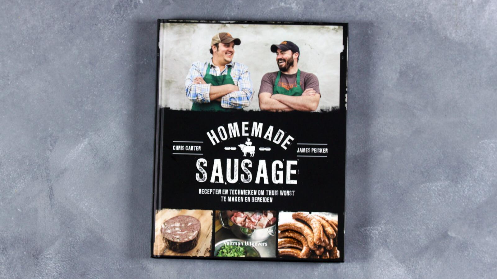 Homemade Sausage. Een boek over worst maken.