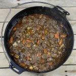 Barbecue Recept: Boeuf Bourguignon uit de Dutch Oven