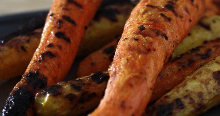 BBQ Recept voor geroosterde wortelen