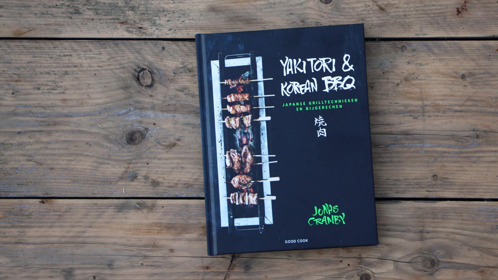 Boekreview: Yakitori & Korean BBQ - Jonas Cramby