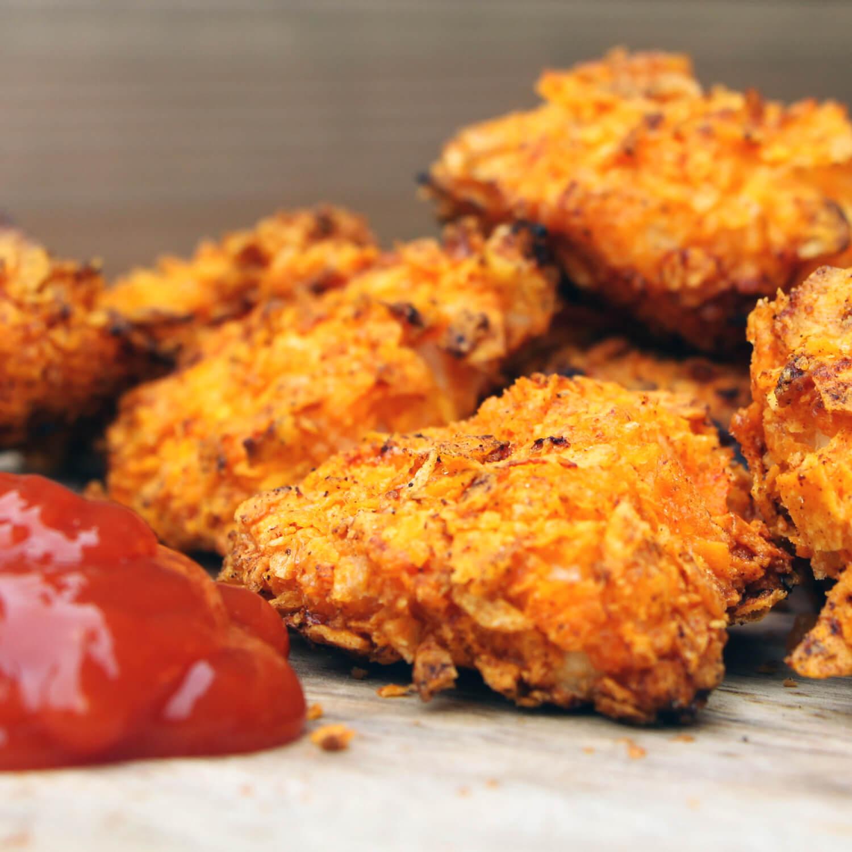 Op zoek naar leuke BBQ recepten? Ga eens voor deze kip nuggets van de BBQ!