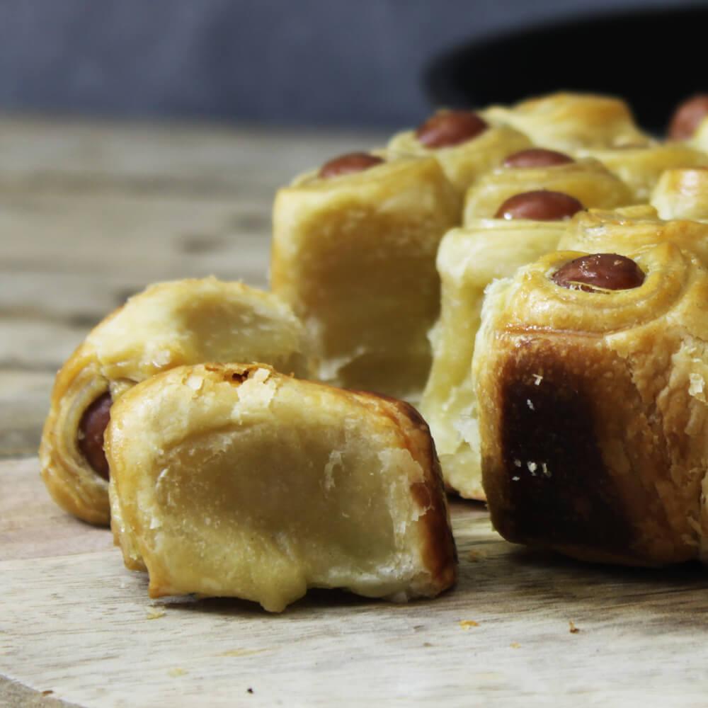 Stiekem ook fan van knakworstjes in bladerdeeg? Ga dan voor deze pigs in a pie!