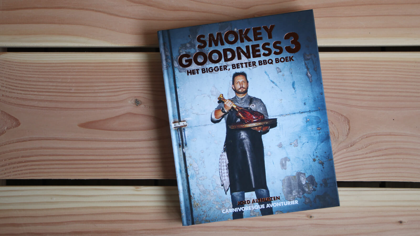Boekreview: Smokey Goodness 3 - Jord Althuizen
