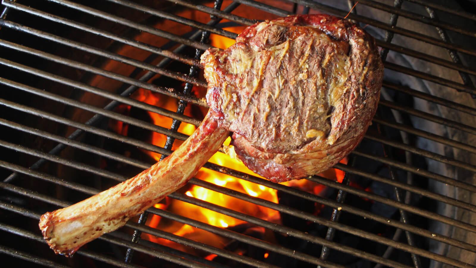 Côte de Boeuf met Gepofte Knoflook | BBQ Recepten | BBQ
