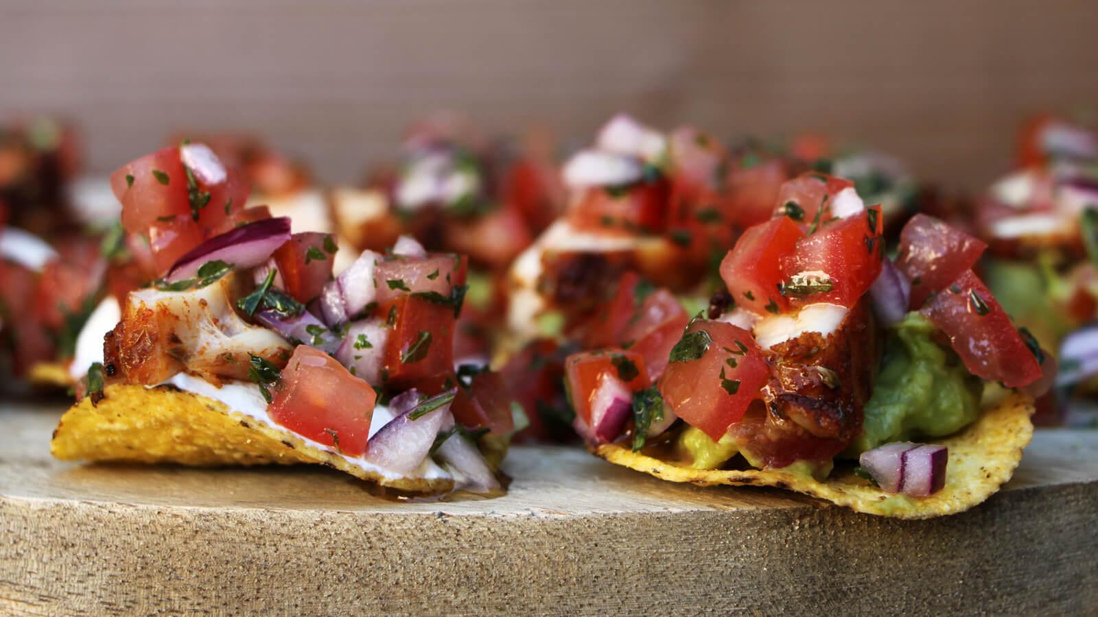 Deze Mexicaanse Nacho Hapjes zijn heerlijk vooraf, of als snack!