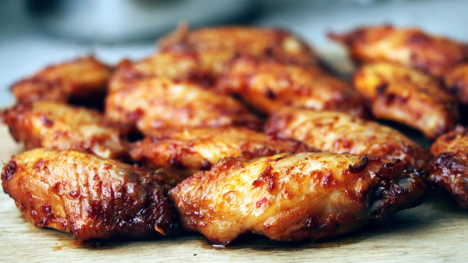 Sticky Chicken Wings