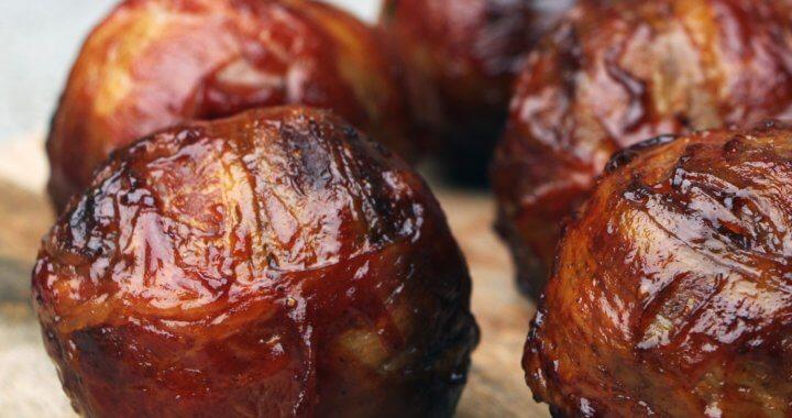 Bourbon Infused Meatballs