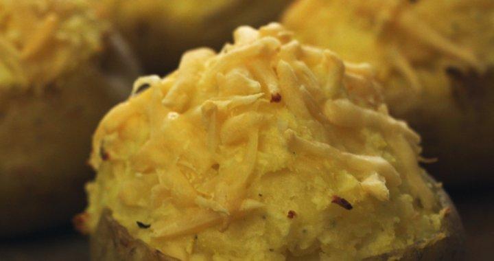 BBQ Recept: dubbel gebakken aardappelen