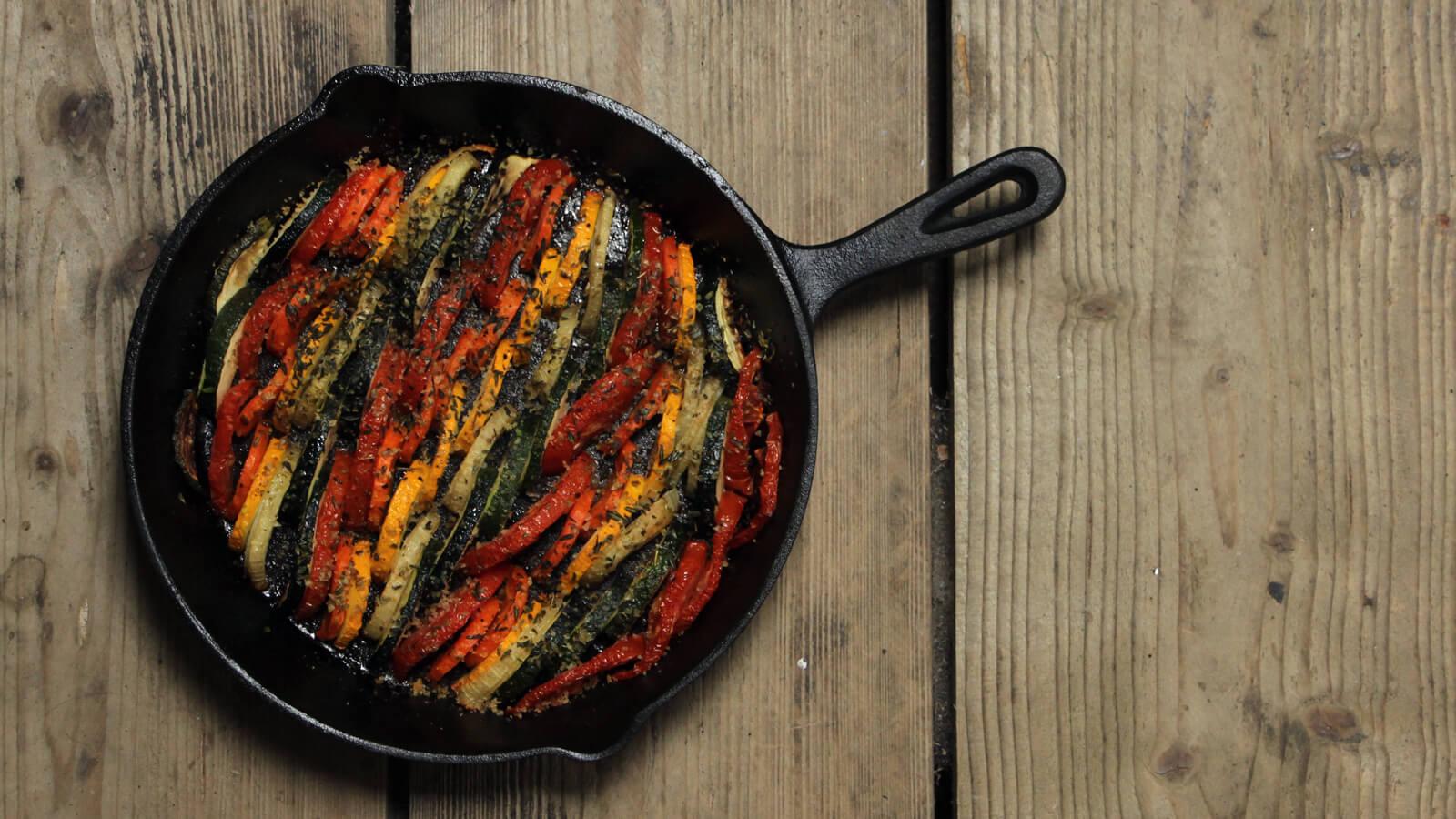 Op zoek naar een lekker recept voor groente van de BBQ? Deze Tian is het proberen waard!