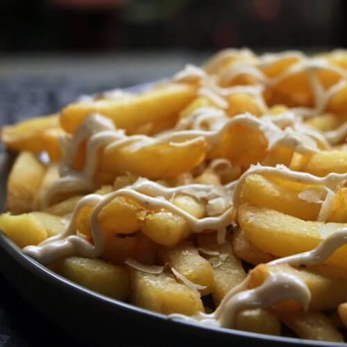 Frietjes met Parmezaan & Truffelmayo