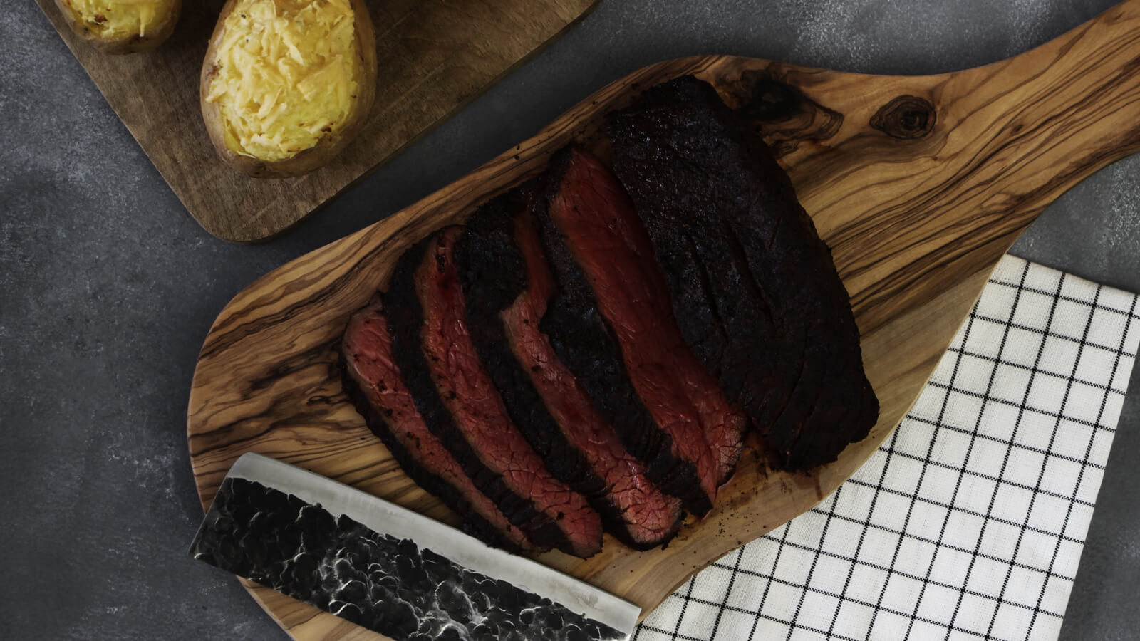 Met deze rosbief van de BBQ maak je gegarandeerd indruk!