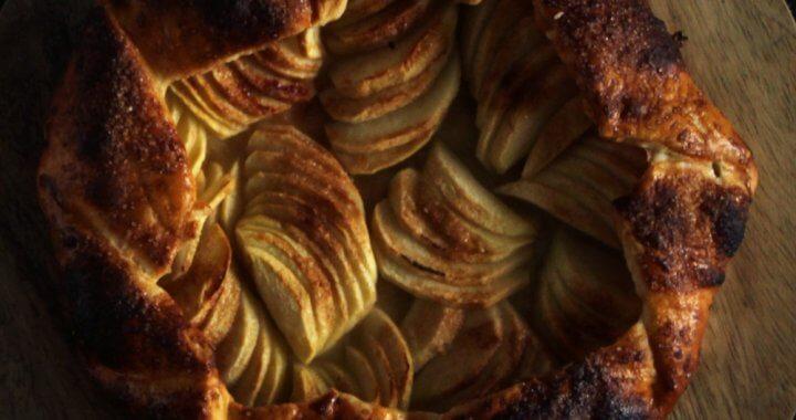 BBQ recept voor appel galette