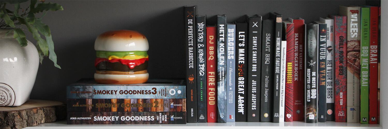 Op zoek naar een leuk BBQ Boek? Bekijk dan eerst mijn BBQ Boekenplank!