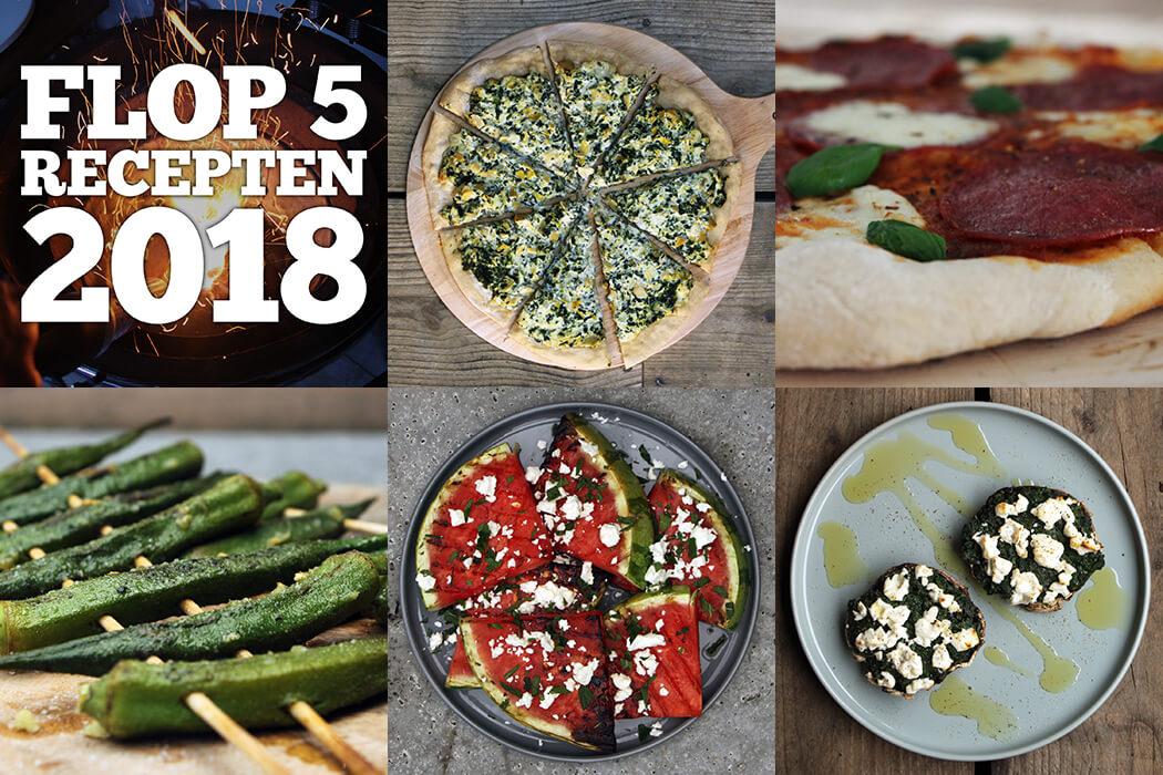 Benieuwd naar de 5 minst populaire BBQ recepten van 2018? je vindt ze hier!