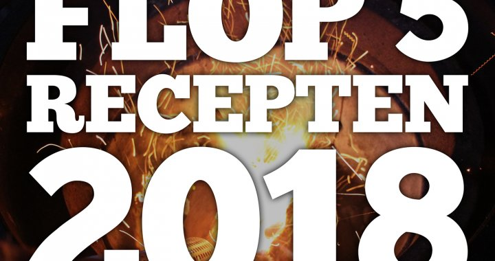 De slechts gelezen recepten van 2018