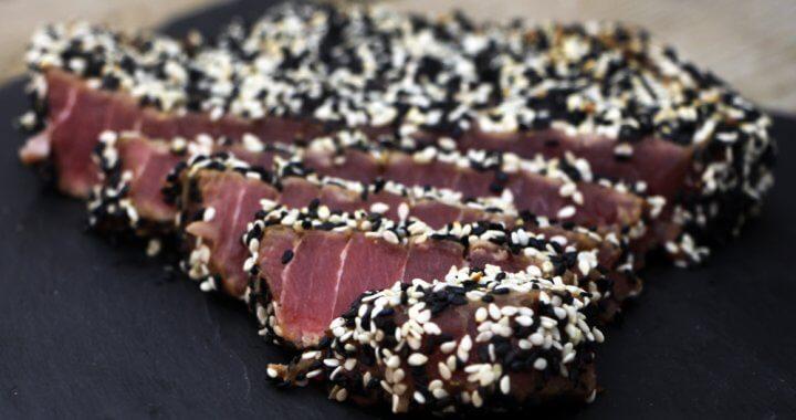 Recept voor Tonijnsteak van de BBQ