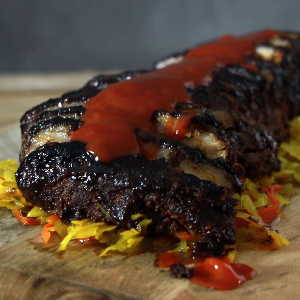 Buikspek Babi Pangang van de BBQ