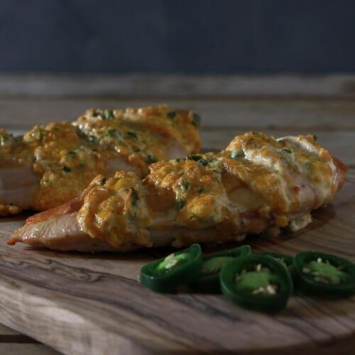 Het perfecte kippetje van de BBQ? Ga voor deze jalapeño popper chicken!