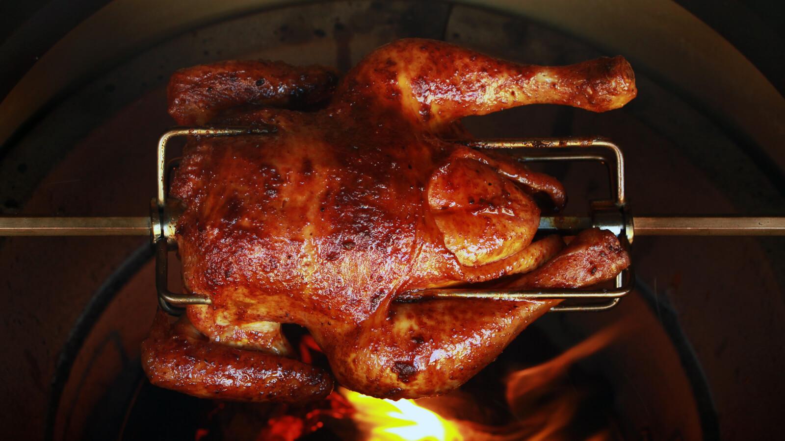 Wordt BBQ'en nog lekkerder dan een heerlijke Kip van het Spit?