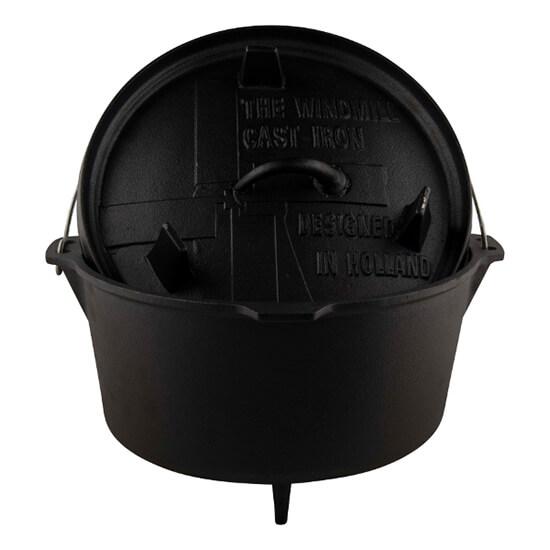 Ook met een Dutch Oven kun je leuke dingen doen op de BBQ!