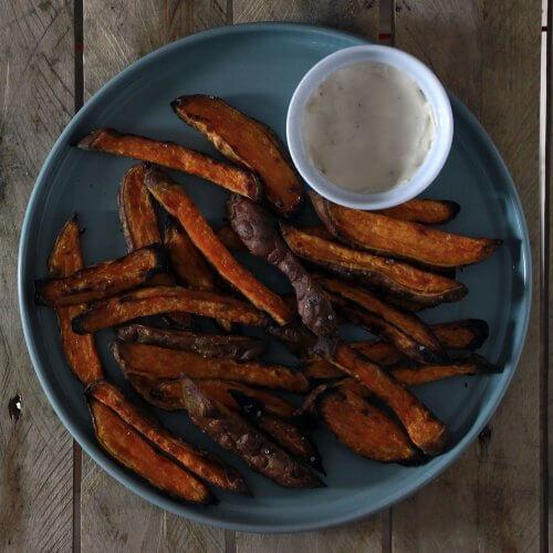 Frietjes van Zoete Aardappel? Kan gewoon op de BBQ!
