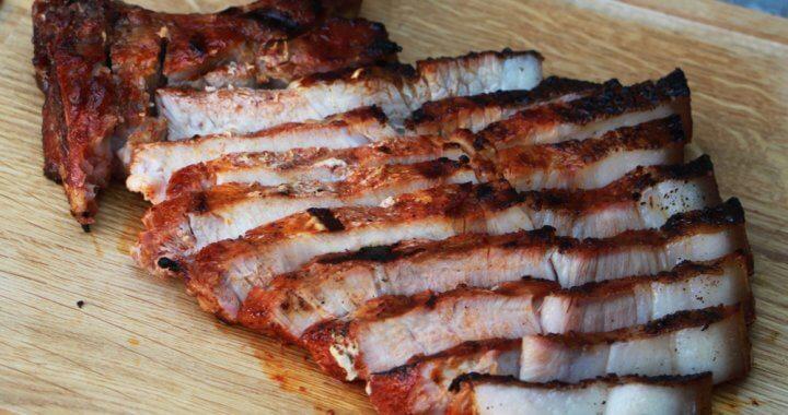 Tomapork van de BBQ