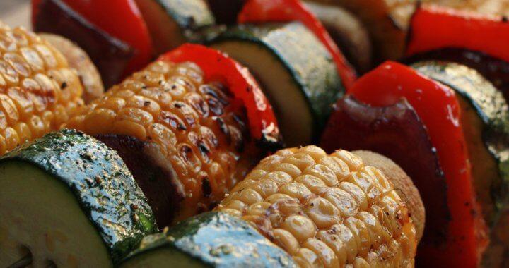 Groente Kebabs