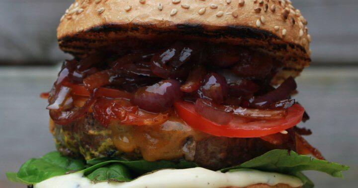 DJ BBQ Burger