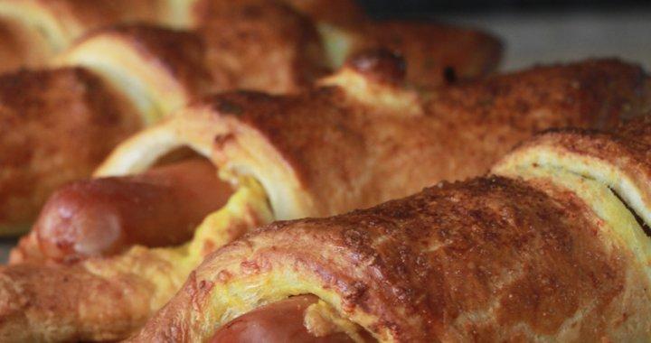 Heerlijke Hotdog Croissants