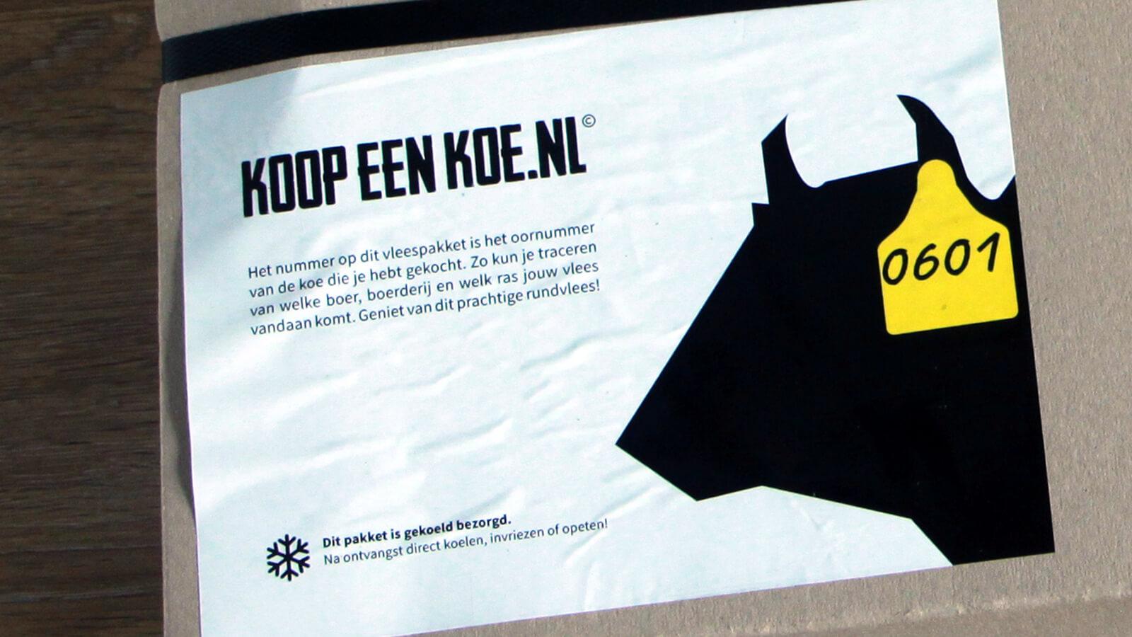 Koopeenkoe.nl: Bestel een kop-tot-staart vleespakket