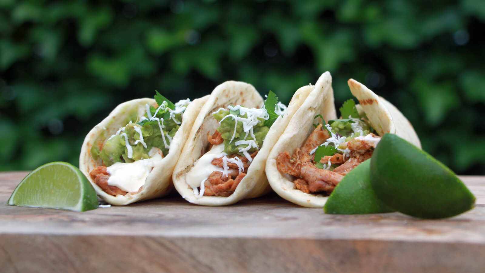 Mexicaanse Pulled Chicken Taco's