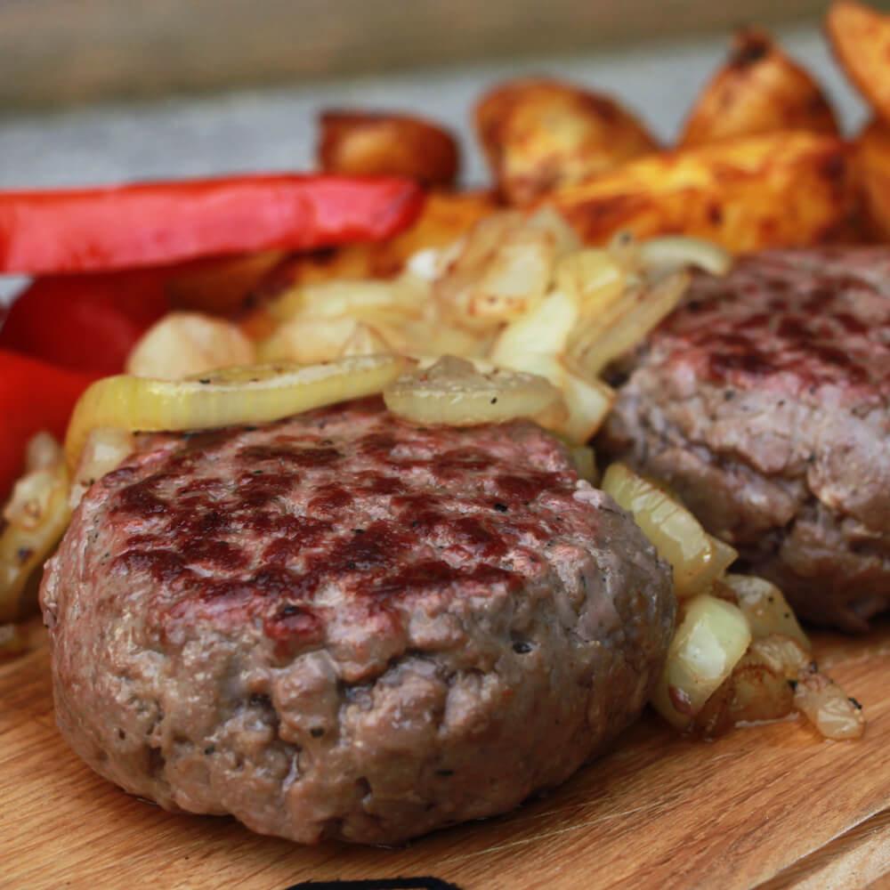 Duitse Biefstuk uit de Skillet